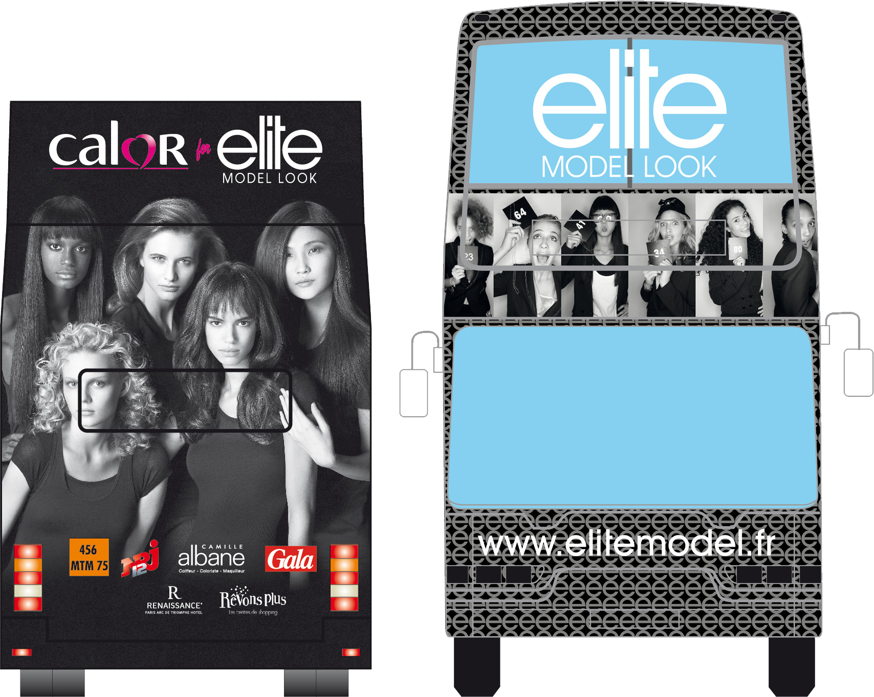 Elite Model Look 2009 total covering campaign